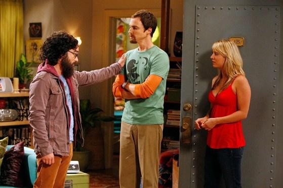 sheldon, penny, and leonard having an argument