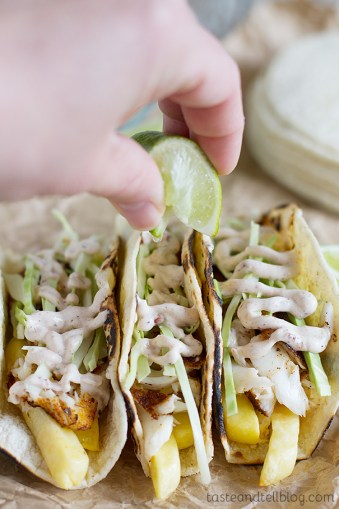 fish and chips taco
