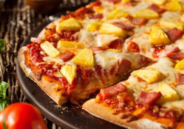 pineapple on pizza
