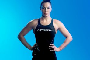 sophie pascoe promotional shot for powerade
