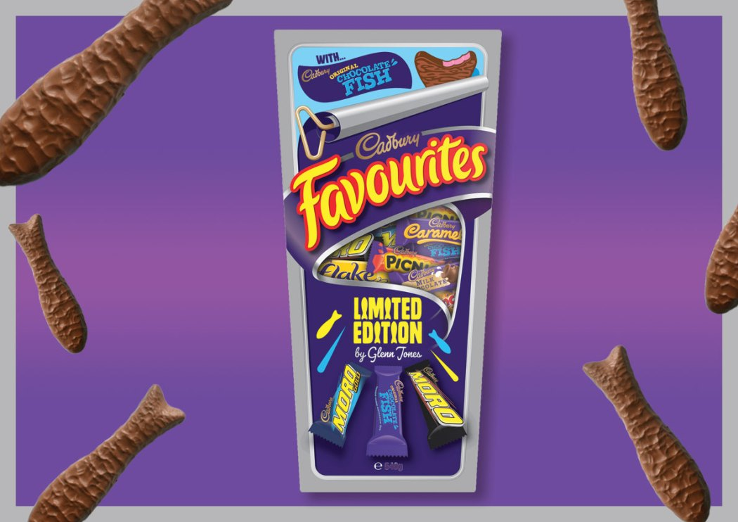Cadbury Favourites with Choc Fish