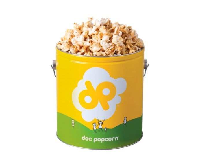 Doc popcorn mint chocolate tub