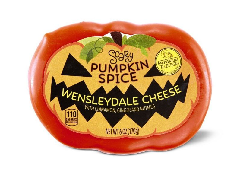 Pumpkin spice cheese