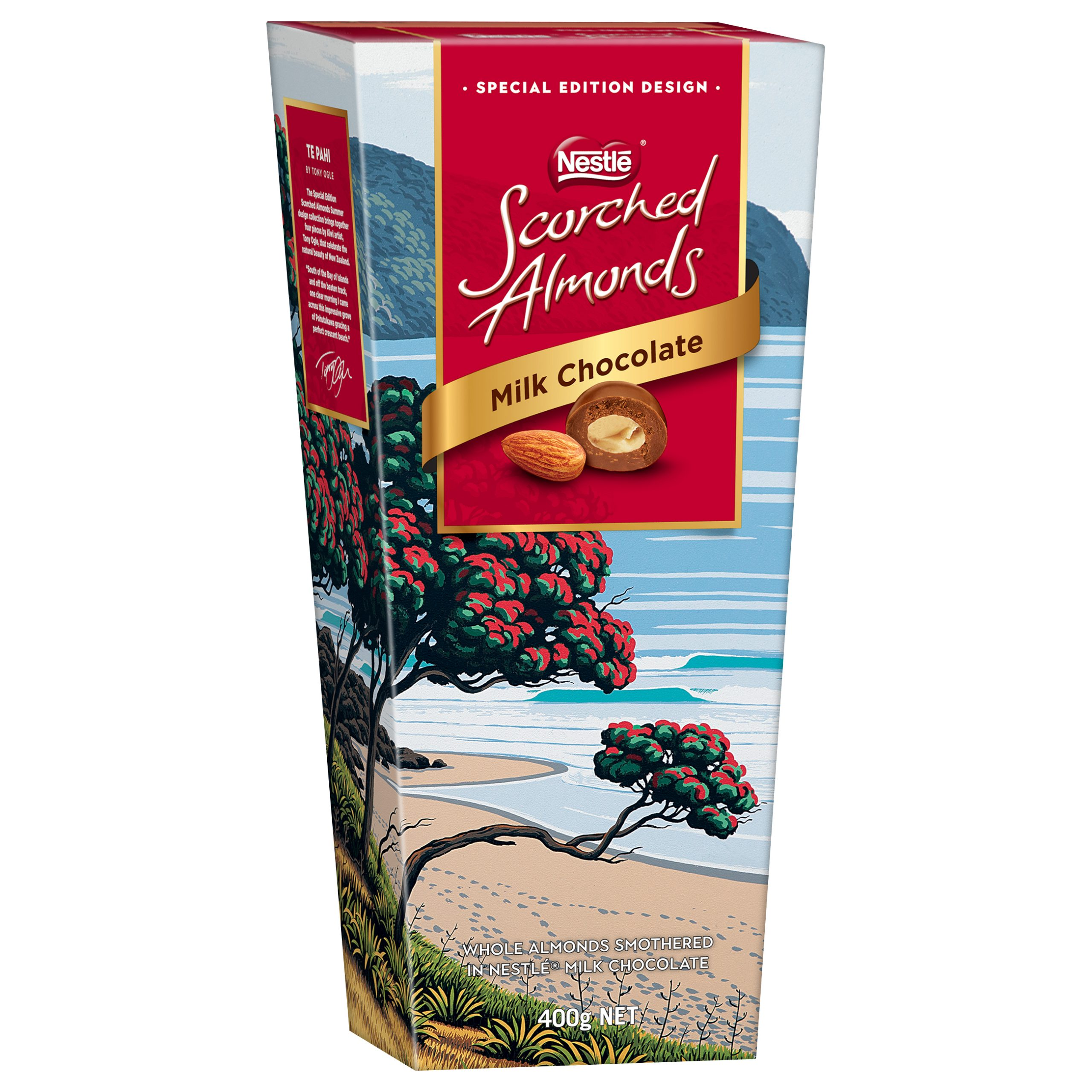 Scorched Almonds Summer Collection -Te Pahi