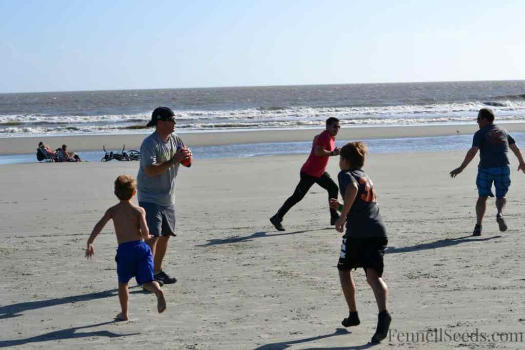 Boys Beach Football