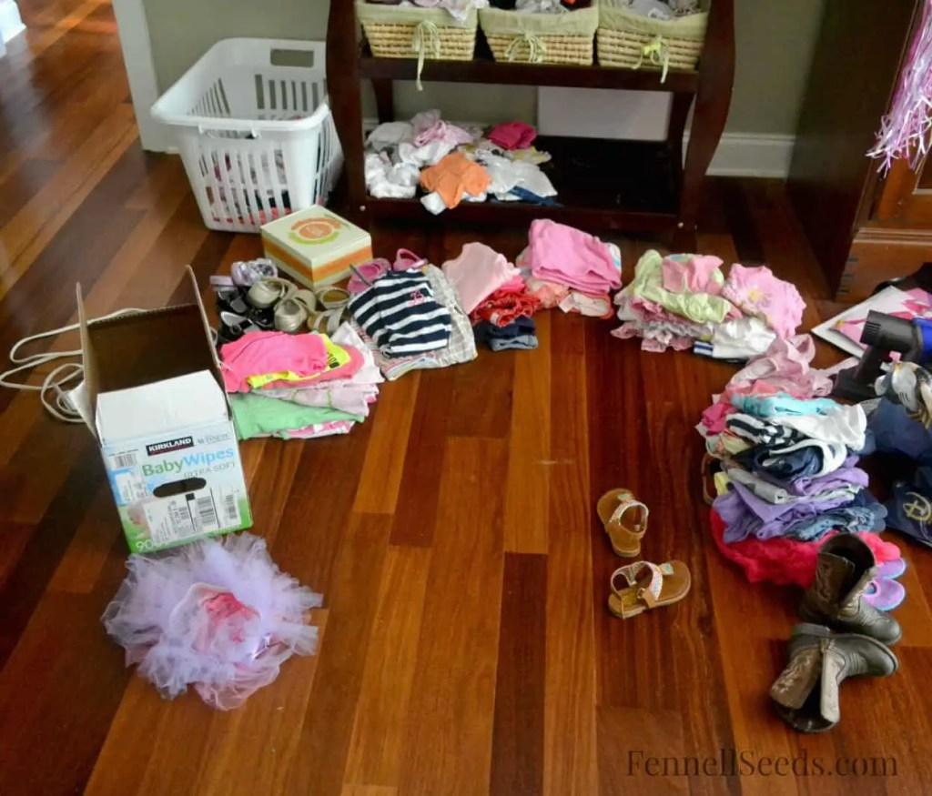 Bonus Cleaning Britton's Clothes During