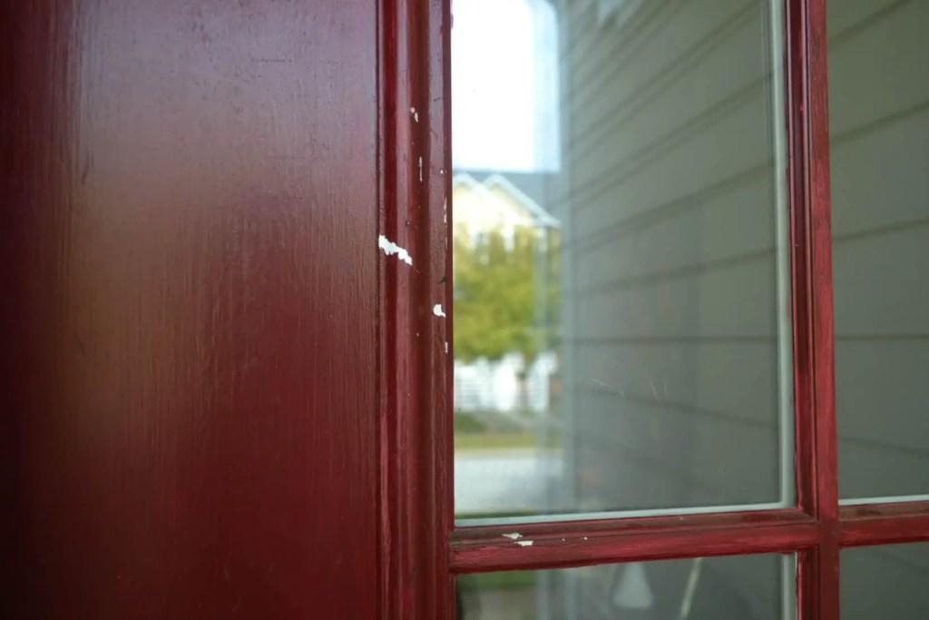 Front Door Scratches