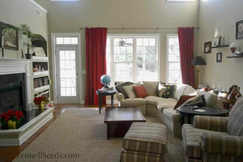 Family Room 1 Week Challenge