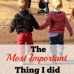 The Most Important Thing I did for Myself when I became a Mom