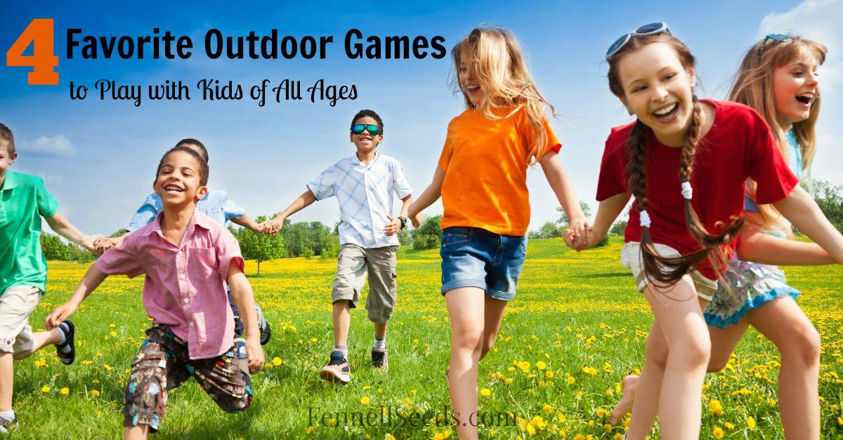 Easy Fast Games To Keep Things Interesting When Playing Outside With Kids This Weekend My