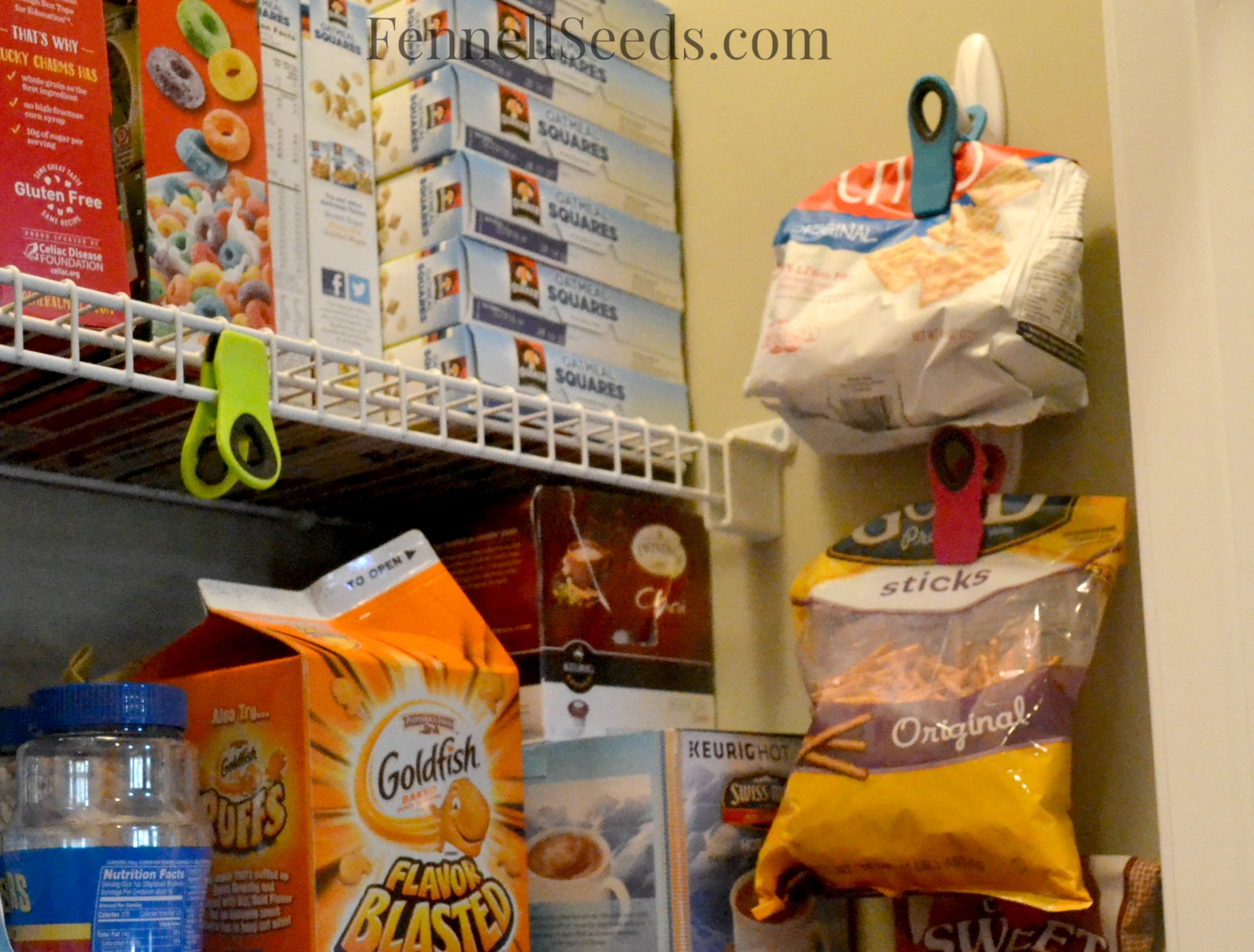 Get Those Bags Of Chips Off The Pantry Shelf A New Way