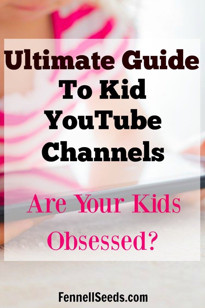 Ultimate Guide to Kid YouTube Channels. Are your kids obsessed with Youtube. Finally, a guide for parents for youtube channels for kids. Which youtube channels are good and which to keep your kids from watching. It is scary what is out there for our kids to watch.