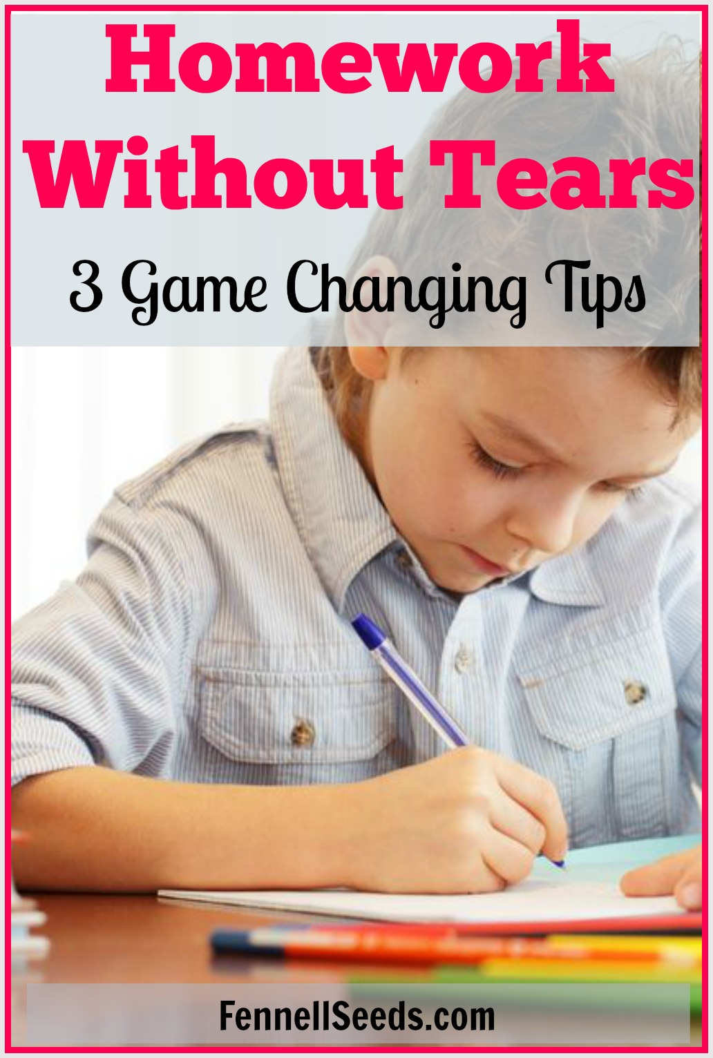 Want Homework Without Tears 3 Game Changing Tips