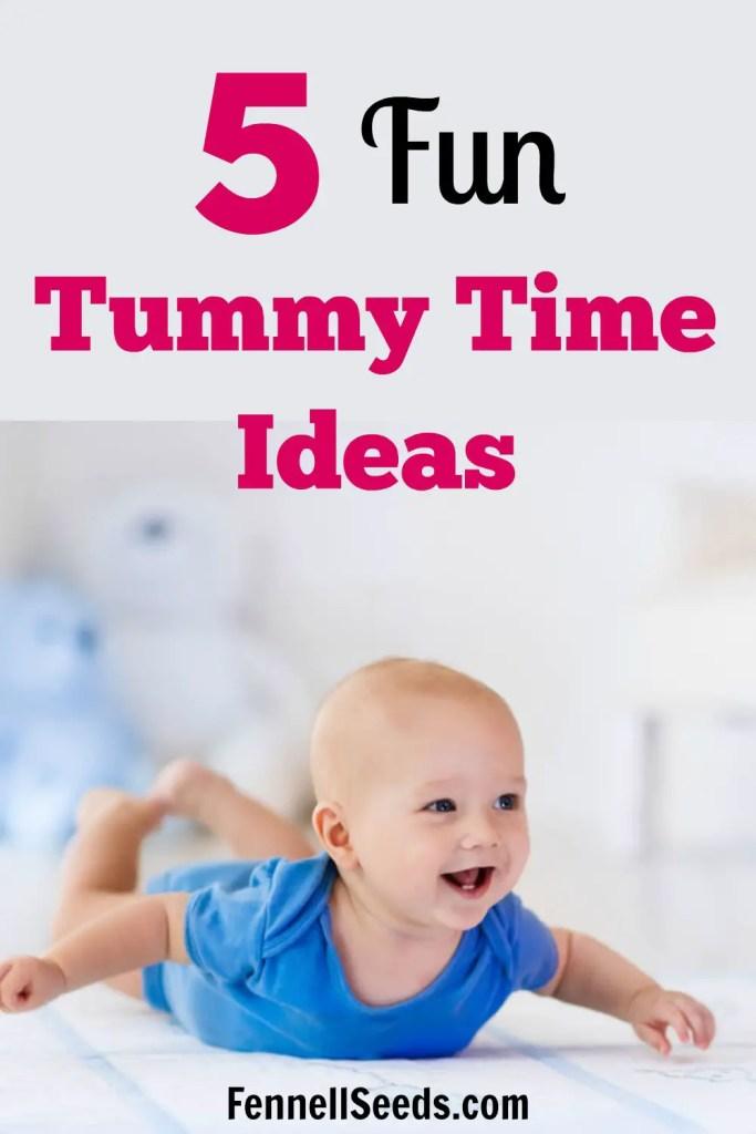 Tummy Time Ideas   Tummy Time Activities   When to start tummy time