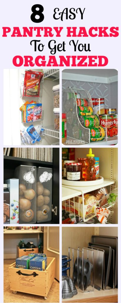 8 Easy Ways To Organize Your Pantry