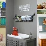 9 Most Inspirational & Organized Changing Tables To Make Bringing Home Baby So Sweet