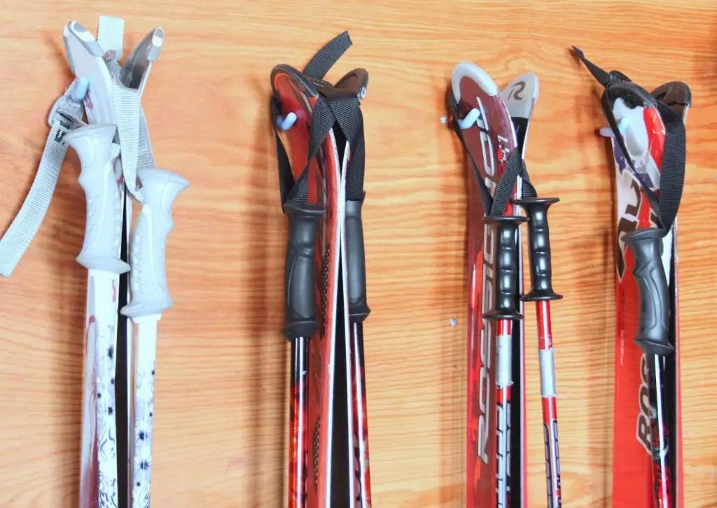 sports equipment storage | garage organization | how to store sports gear | store sports equipment | sports equipment organization | Scooter storage | ski equipment organization