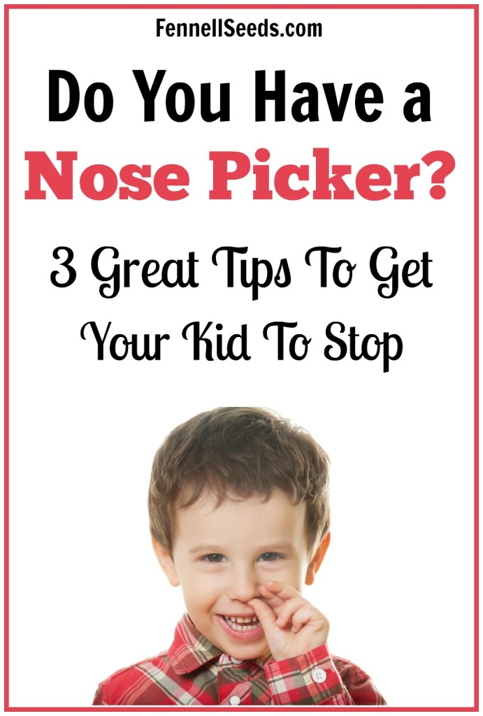 How to stop nose picking | nose picker | how to stop your child from picking their nose | child picking nose