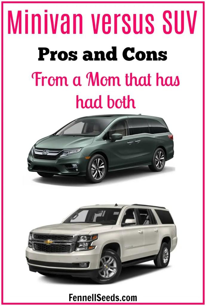 Minivan vs suv   suv vs minivan   Should I buy a minivan   minivan versus suv   suv versus minivan