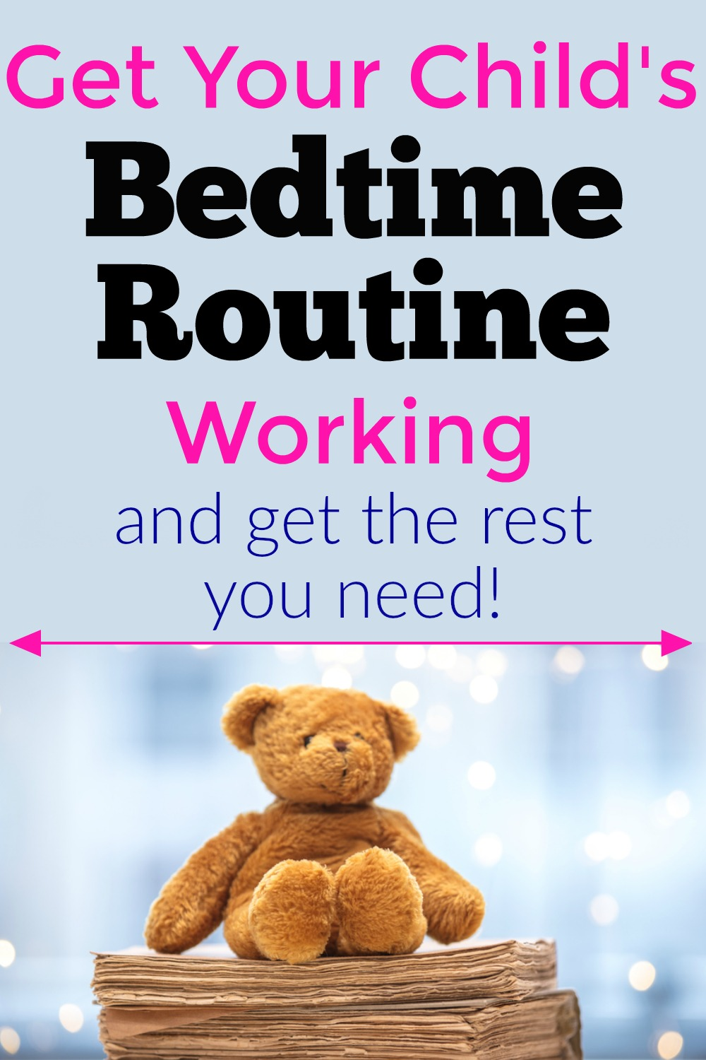 Starting a bedtime routine can dramatically help your child to fall asleep without getting upset. Try these tips to help get your child to sleep and get more sleep for yourself.