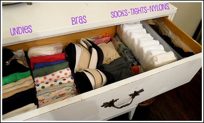 Some Super Functional Ways For How To Organize Dresser Drawers How To Organize Your Dresser