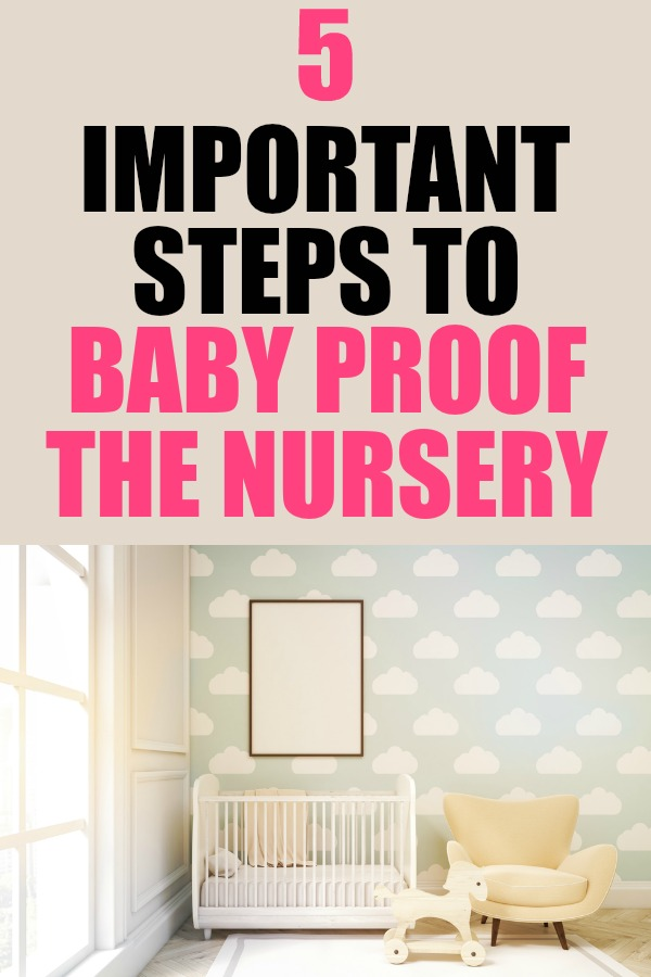 How to baby proof the nursery. #CordlessForKids #IC #AD