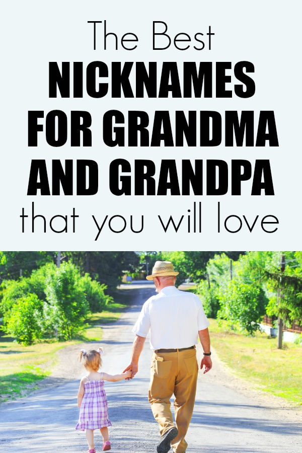 Fun nicknames for grandma she will love. Plus nicknames for Grandpa too. Includes international names.