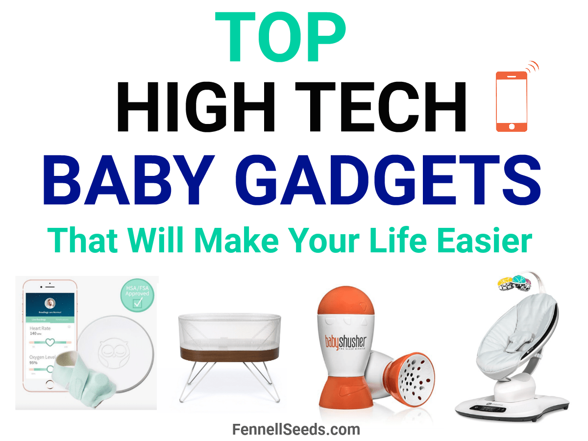 The Top 10 High-Tech Baby Gadgets That Will Make Your Life