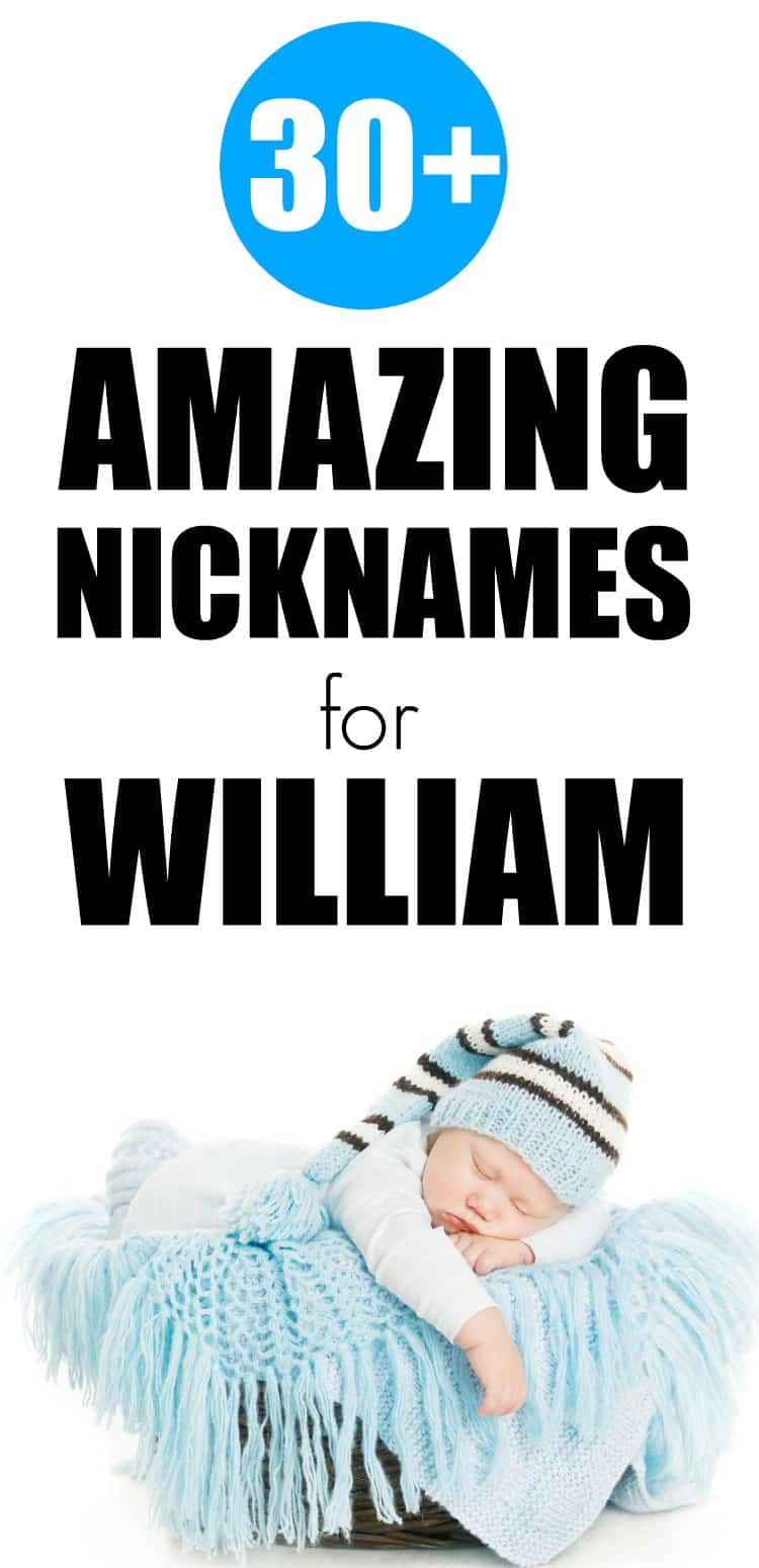 30+ amazing nicknames for william that are perfect for your little boy.