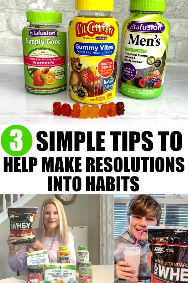 3 Tips to Help Make Resolutions Into Habits. #ad Enter to Win the Resolutions At Walmart Sweepstakes. www.walmartresolutions.com And check out all the products I purchased at my local Walmart. #ResolutionsatWalmart #RME
