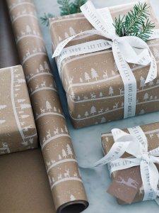 karácsonyi ajándékok fenntartható
