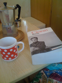 cioran on the desk