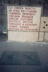 Gavrilo_Princip_steps_and_plaque