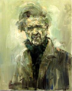 Vernisajul expozitiei de pictura Portret literar de Bogdan Ene_11-11-2013 prof. univ. dr. Silviu Angelescu Cristescu Ioan