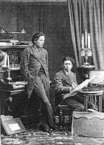 Anton i Nikolaj Čehov 1882.