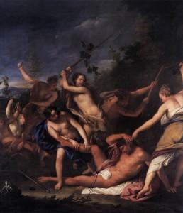 Gregorio_Lazzarini_-_Orpheus_and_the_Bacchantes_(detail)_-_WGA12528