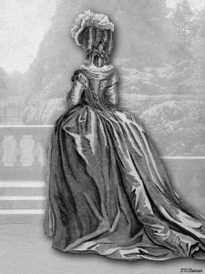 18th Century French Fashion plate 3