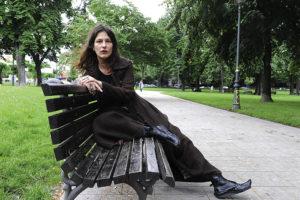 Milena Markovic, dramska spisateljica, pesnikinja jun 2010 Beograd Foto: Branko Belic
