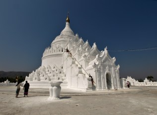 Mingun, la pagode de la princesse à l'éléphant blanc