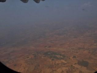 Descente vers l'aéroport d'Heho