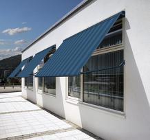 Fallarmmarkise Fenster Markise Wintergarten Terrassendach Fassade