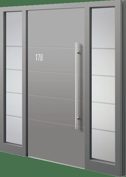 unsere günstige Haustür aus Aluminium