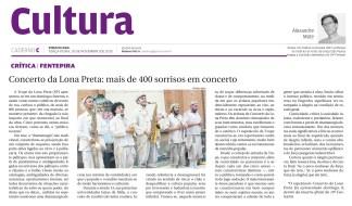 Concerto da Lona Preta: mais de 400 sorrisos em concerto