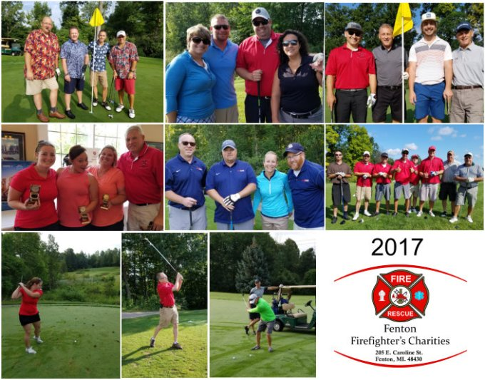 Fenton Fire Charity Golf Outing 2017