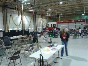 May 2013 Red Cross Blood Drive at Fenton Fire Department