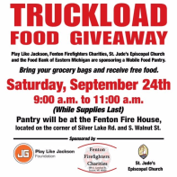 2016 September Truckload Food Giveaway