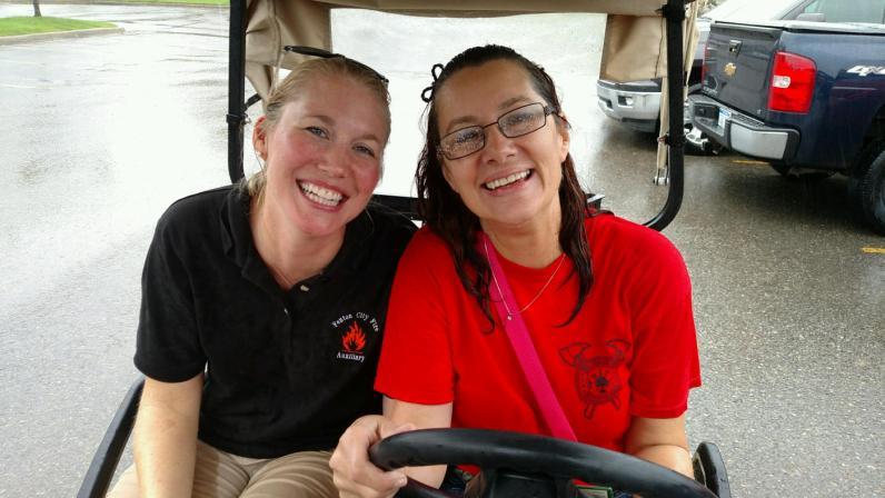 Golf Cart Driver Volunteers