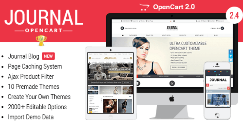 Journal — Advanced Opencart Theme Framework v. 2.4.6 – Jan 27, 2015