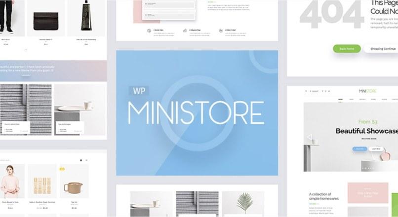 Ministore — Multipurpose WordPress Theme