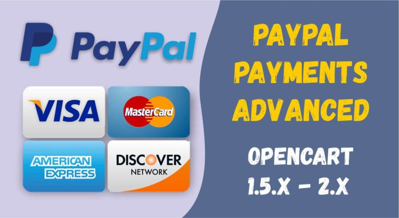 PayPal Payments Advanced Module for opencart